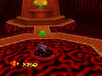 Pantallazo del juego online Earthworm Jim 3D (N64)