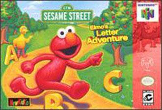 Portada de la descarga de Sesame Street – Elmo's Letter Adventure