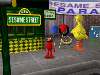 Imagen de la descarga de Sesame Street – Elmo's Letter Adventure