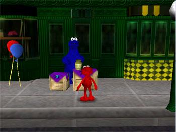 Pantallazo del juego online Sesame Street Elmo's Number Journey (N64)
