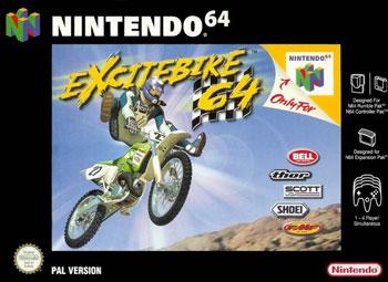 Carátula del juego Excitebike 64 (N64)
