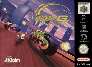 Carátula del juego Extreme-G (N64)