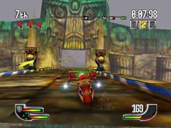 Pantallazo del juego online Extreme-G (N64)