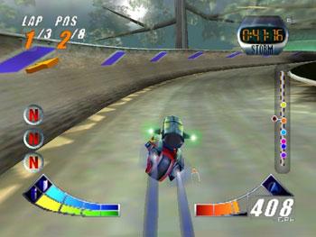 Pantallazo del juego online Extreme-G 2 (N64)