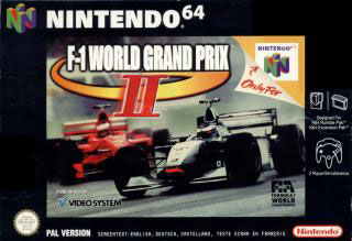Carátula del juego F-1 World Grand Prix II (N64)