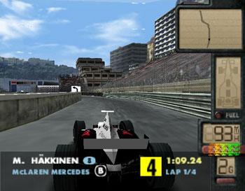Pantallazo del juego online F-1 World Grand Prix II (N64)