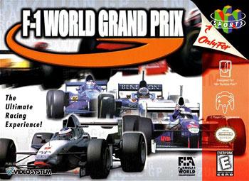 Carátula del juego F-1 World Grand Prix (N64)