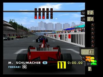 Pantallazo del juego online F-1 World Grand Prix (N64)