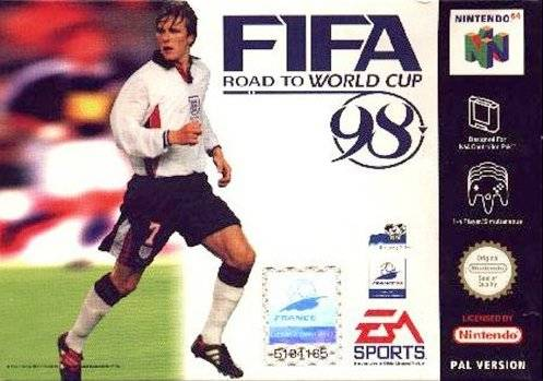 Carátula del juego FIFA - Road to World Cup 98 (N64)