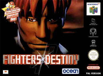 Carátula del juego Fighters Destiny (N64)