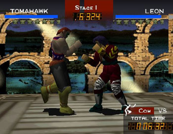 Pantallazo del juego online Fighters Destiny (N64)