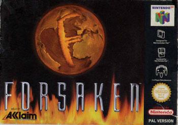 Carátula del juego Forsaken 64 (N64)