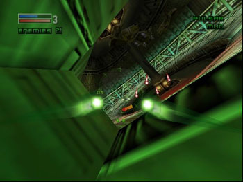 Pantallazo del juego online Forsaken 64 (N64)