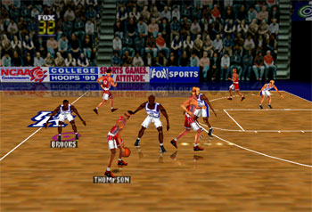 Pantallazo del juego online Fox Sports College Hoops '99 (N64)