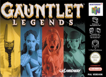 Portada de la descarga de Gauntlet Legends