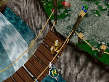 Pantallazo del juego online Gauntlet Legends (N64)