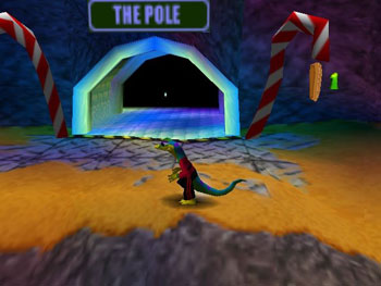 Pantallazo del juego online GEX 3 - Deep Cover Gecko (N64)