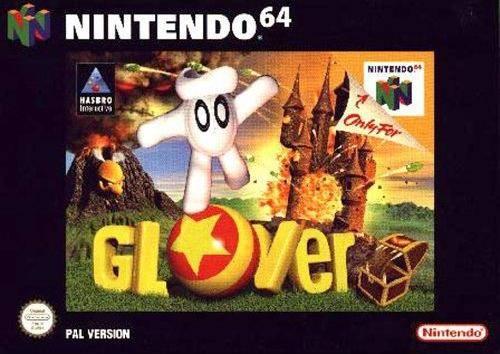 Carátula del juego Glover (N64)