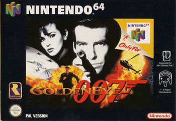 Carátula del juego GoldenEye 007 (N64)