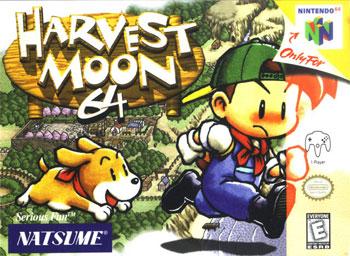 Carátula del juego Harvest Moon 64 (N64)