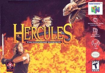 Carátula del juego Hercules - The Legendary Journeys (N64)