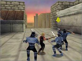 Pantallazo del juego online Hercules - The Legendary Journeys (N64)