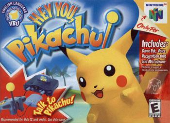 Carátula del juego Hey You Pikachu (N64)