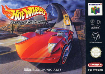 Carátula del juego Hot Wheels Turbo Racing (N64)