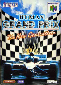 Carátula del juego Human Grand Prix - The New Generation (N64)