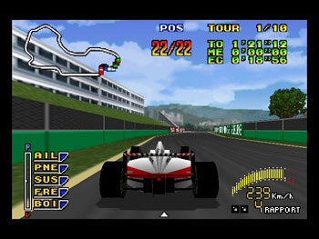 Pantallazo del juego online Human Grand Prix - The New Generation (N64)