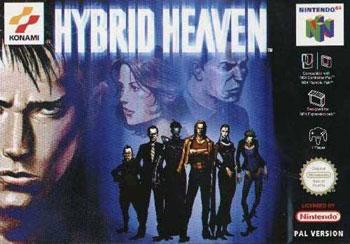 Carátula del juego Hybrid Heaven (N64)