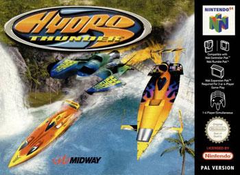 Carátula del juego Hydro Thunder (N64)