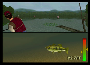 Pantallazo del juego online In-Fisherman Bass Hunter 64 (N64)