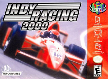 Portada de la descarga de Indy Racing 2000
