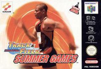 Portada de la descarga de International Track & Field: Summer Games