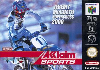 Carátula del juego Jeremy McGrath Supercross 2000 (N64)