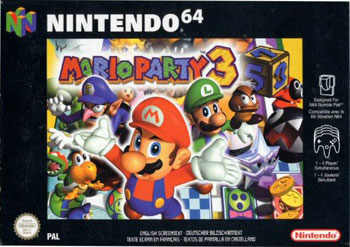 Portada de la descarga de Mario Party 3