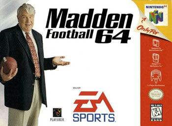 Portada de la descarga de Madden Football 64