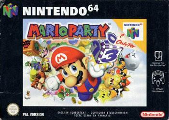 Carátula del juego Mario Party (N64)