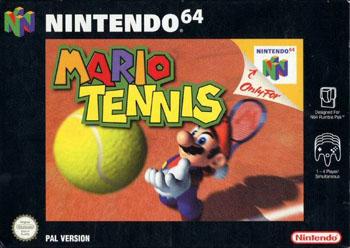 Carátula del juego Mario Tennis (N64)
