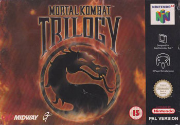 Carátula del juego Mortal Kombat Trilogy (N64)
