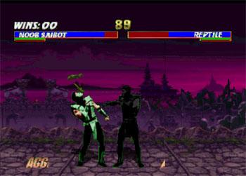 Pantallazo del juego online Mortal Kombat Trilogy (N64)