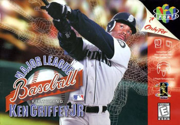 Portada de la descarga de Major League Baseball Featuring Ken Griffey Jr