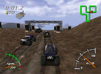 Imagen de la descarga de Monster Truck Madness 64