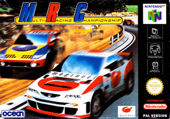 Carátula del juego MRC - Multi-Racing Championship (N64)