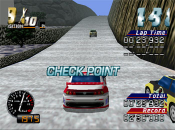 Pantallazo del juego online MRC - Multi-Racing Championship (N64)