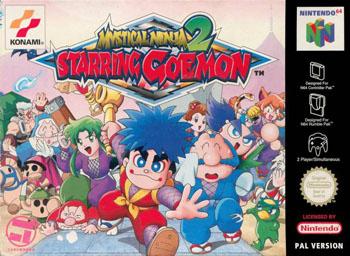 Carátula del juego Mystical Ninja 2 Starring Goemon (N64)