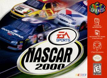 Carátula del juego NASCAR 2000 (N64)