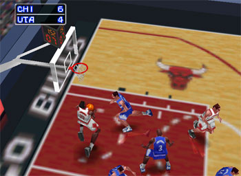 Pantallazo del juego online NBA In the Zone '98 (N64)