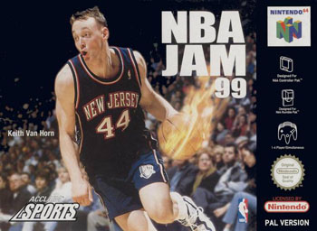 Carátula del juego NBA Jam 99 (N64)